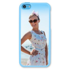 iPhone 5C Light Blue Hard Moulded Plastic Case