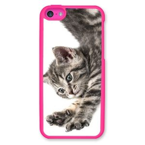 iPhone 5c Dark Pink Hard Moulded Plastic Case