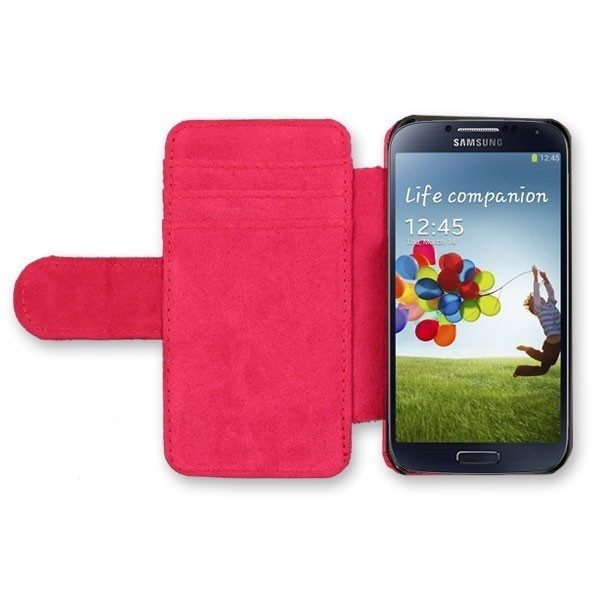 Samsung Galaxy S3 Mini Red Leather Case