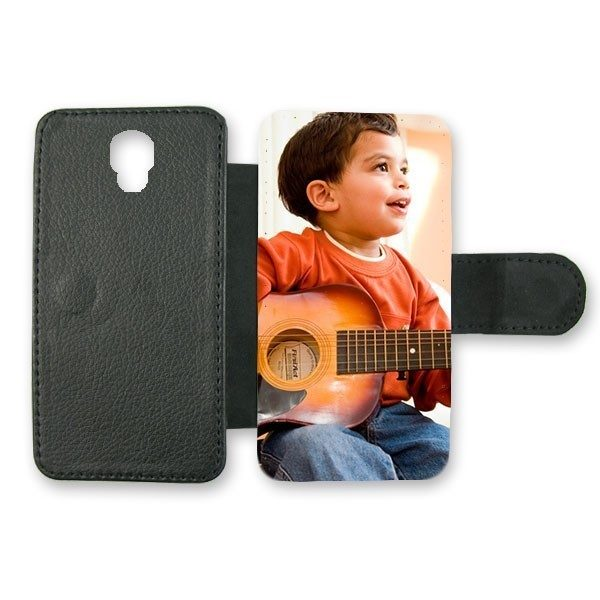 Samsung Galaxy S3 Mini Black Leather Case