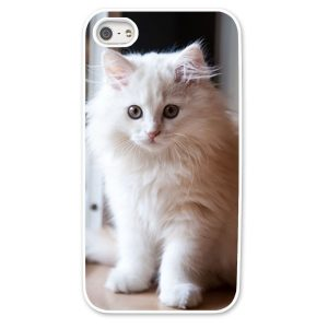 iPhone 5s White Hard Moulded Plastic Case