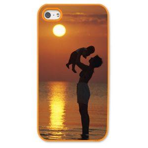 iPhone 5s Orange Moulded Plastic Case