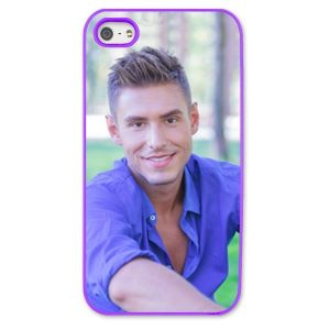 iPhone 5s Purple Moulded Plastic Case