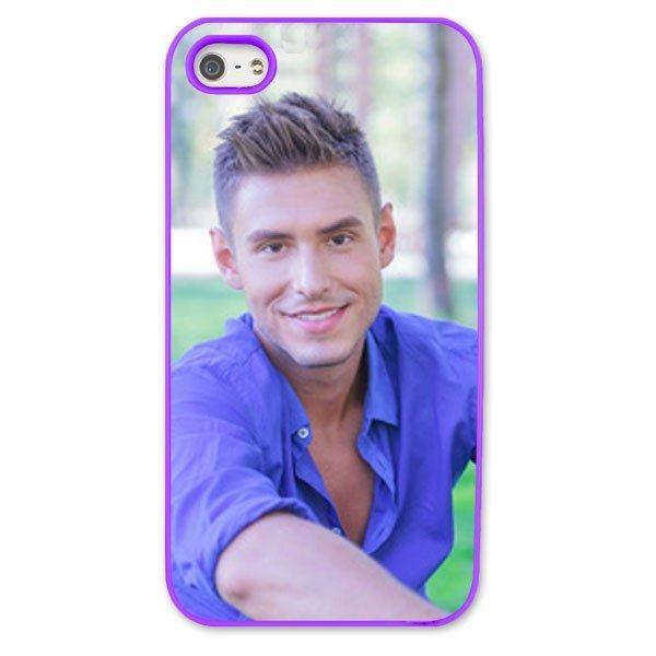 iPhone 5s Purple Moulded Plastic Case
