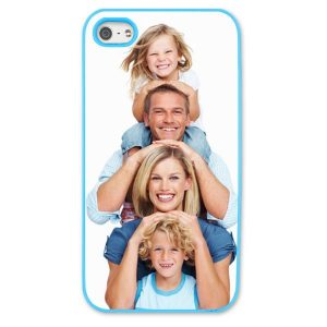 iPhone 5s Light Blue Moulded Plastic Case