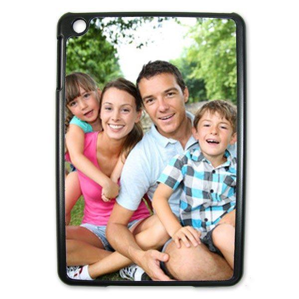 iPad Mini Personalised Black Hard Plastic Case