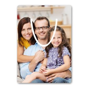 Rectangle Photo Bookmark with Cutout
