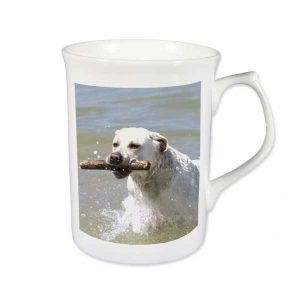 Topaz Bone China Photo Mug
