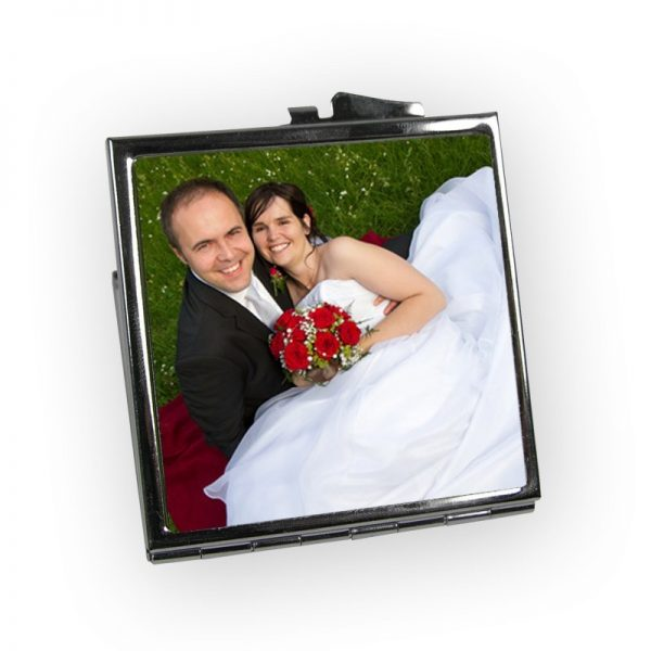 Square Shaped Compact Mirror