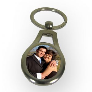 Oval Gap Keyring