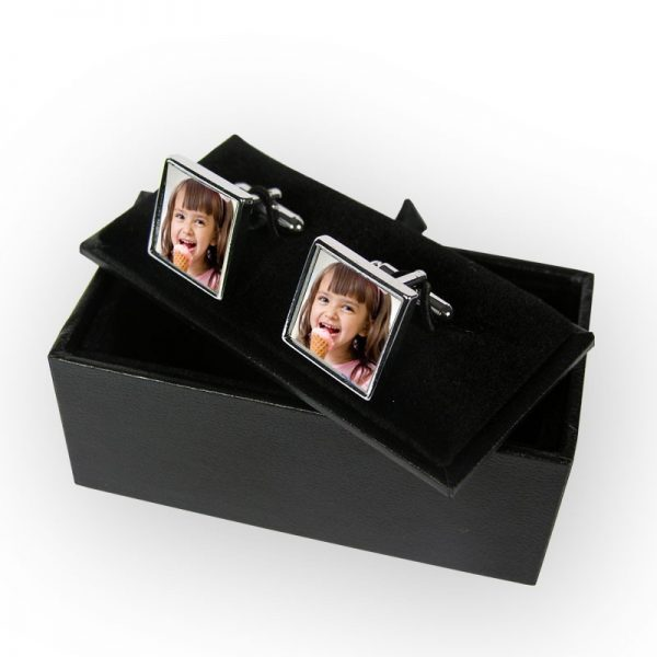 Square Photo Cuff Links