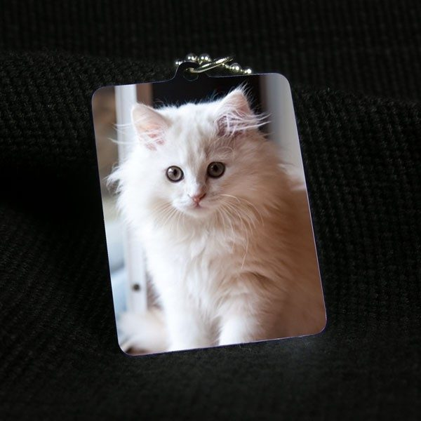Medium sized Printed Photo Pendant
