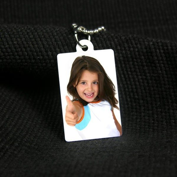 Small Printed Photo Pendant