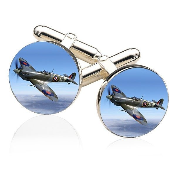 Round Photo Cuff Links