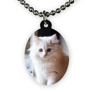 Oval shaped Photo Necklace