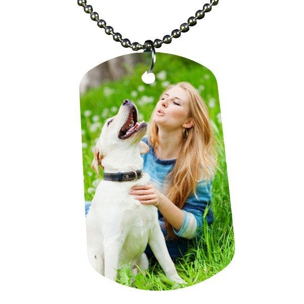 Large Printed Photo ID Tag