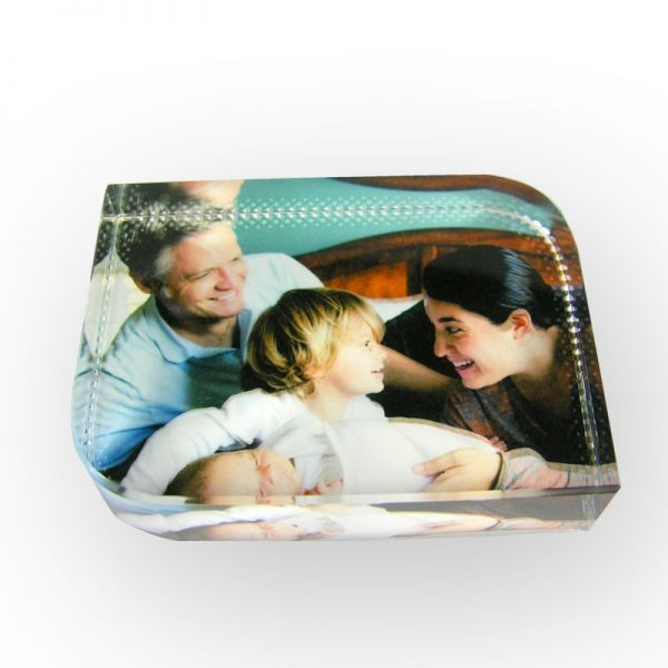Photo Gift – Photo Curved Crystal Block