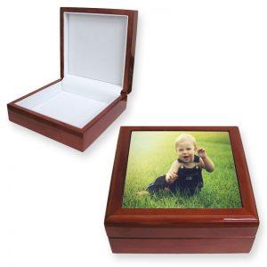 Teak Memento Box